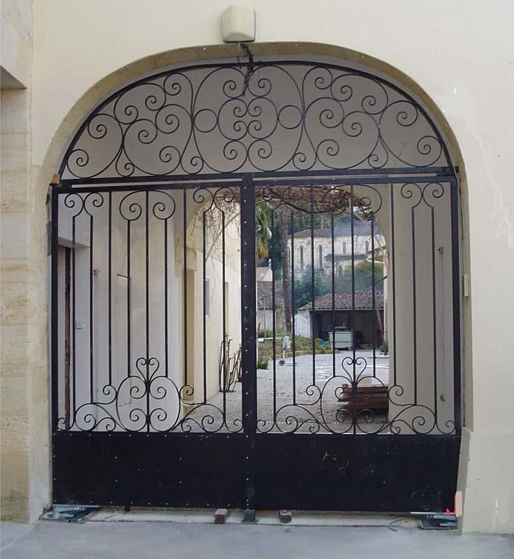 Porte entrée Ferronnerie