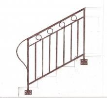 Protection descente d'escalier